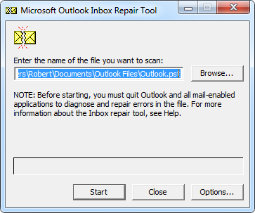 How to Fix Outlook PST Error 0x80040116